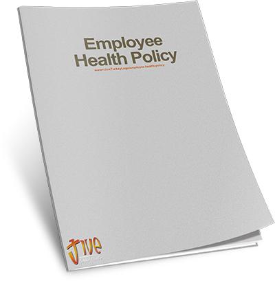 Employee Health Policy Jive Turkey Legs
